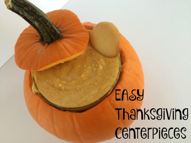 Easy Thanksgiving Centerpieces