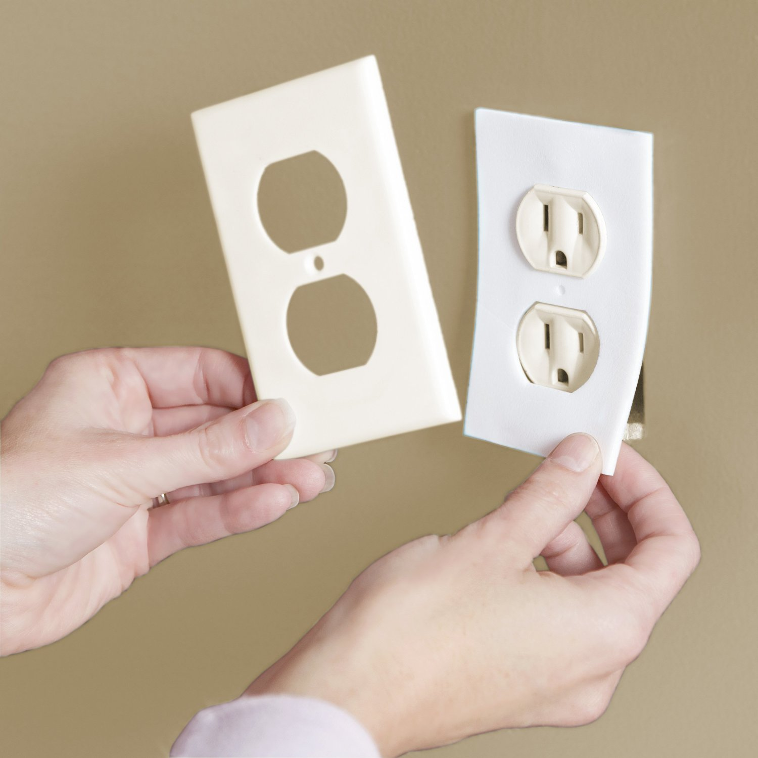 Insulation covers--help keep drafts from coming through your outlets #ad