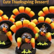 Oreo Turkey–Cute Thanksgiving Dessert!