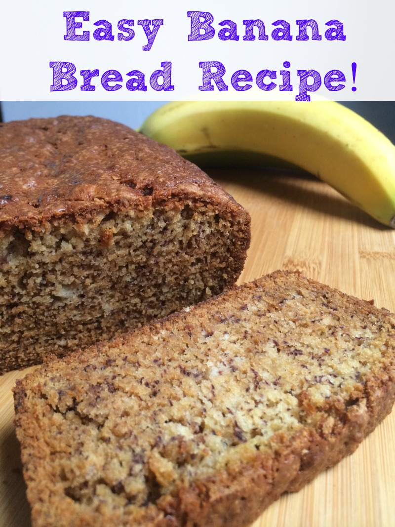 Banana Bread from Scratch