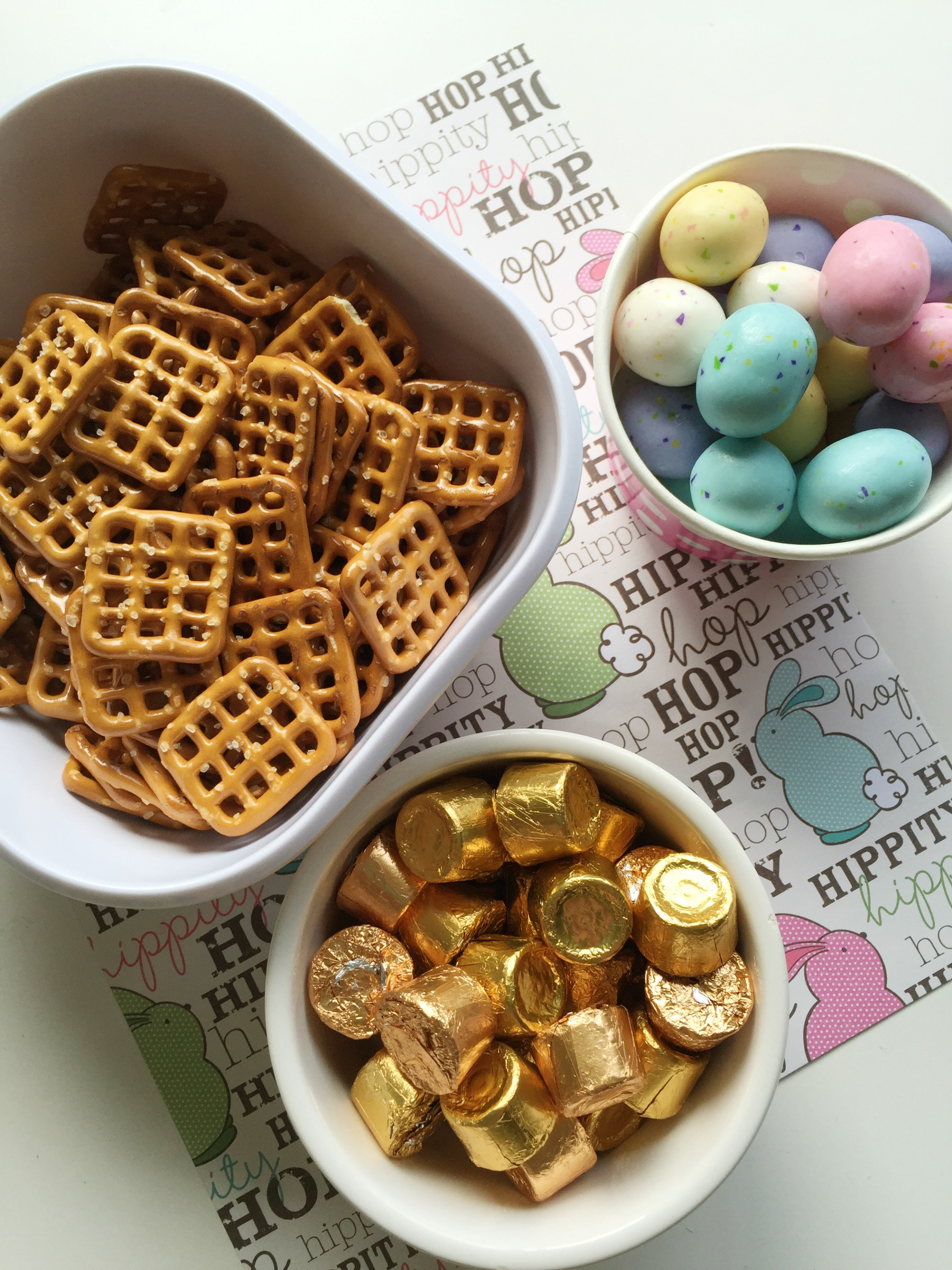 Rolo Pretzel Easter Treat--a Perfect Sweet and Salty Snack