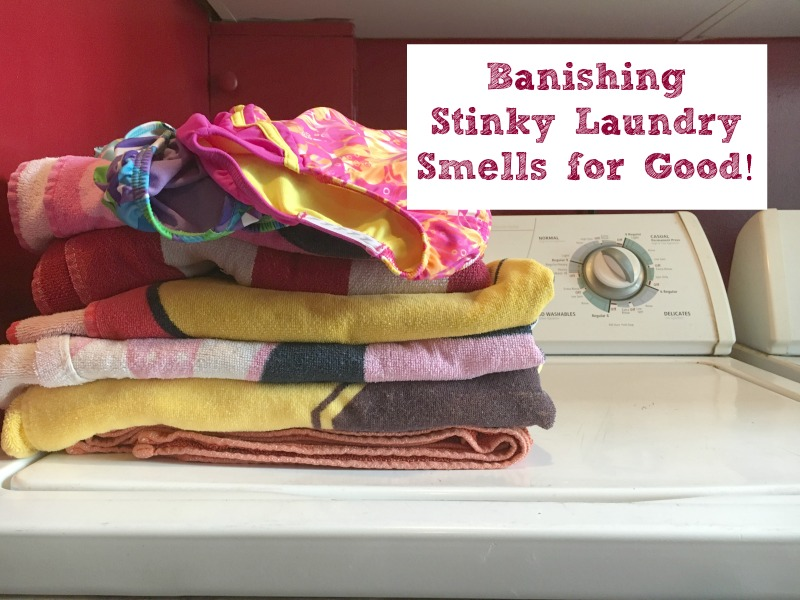 Banishing Stinky Laundry Smells for Good! #Wisk60