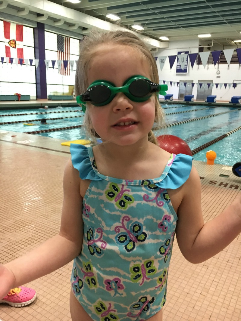 Swim Lessons are fun but stinky, wet bathing suits are not! #Wisk60