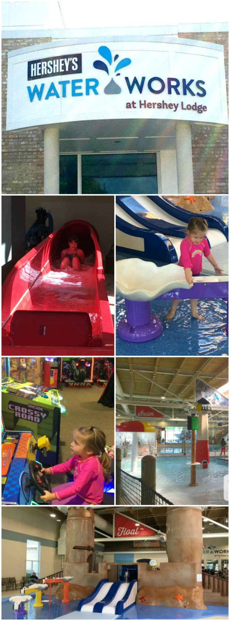 The Hershey Waterworks at the Hershey Lodge is fun for the entire family!