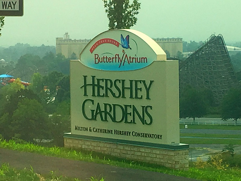 Butterfly Atrium at the Hershey Gardens #SweetestMoms #partner