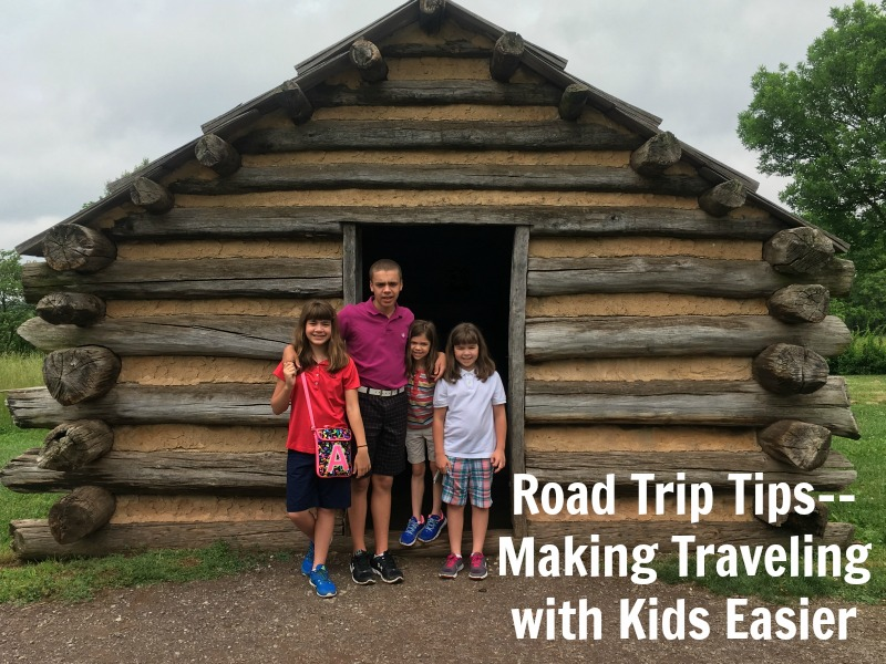 Road Trip Tips--Making Traveling with Kids Easier #RoadTripOil