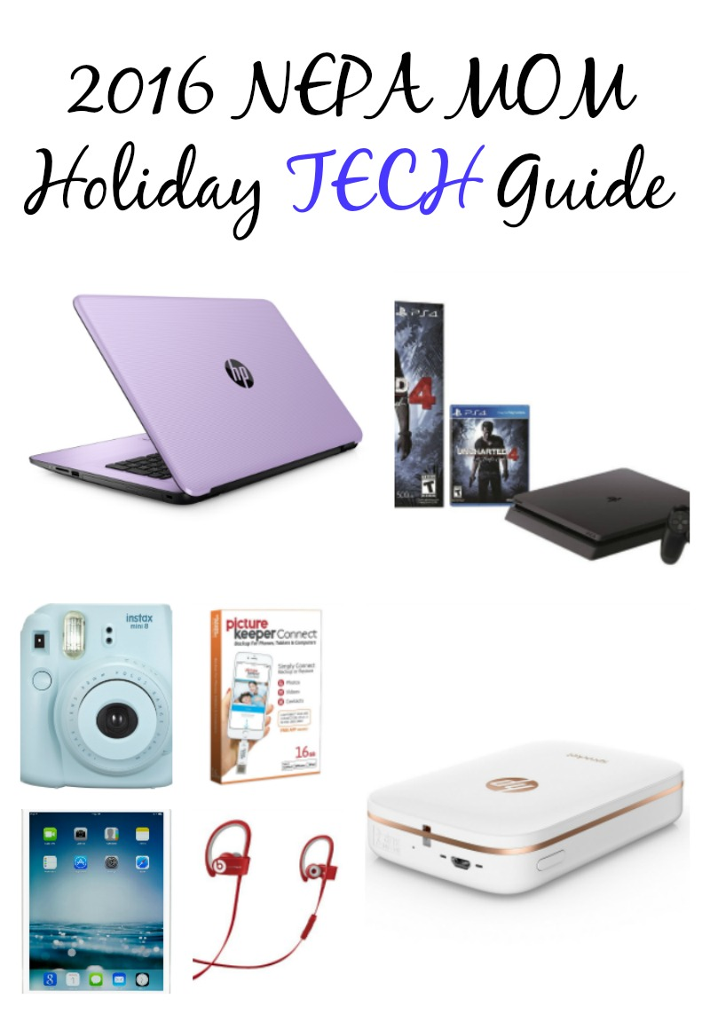 2016 NEPA MOM Holiday Tech Guide--great gifts for Tech Lovers!