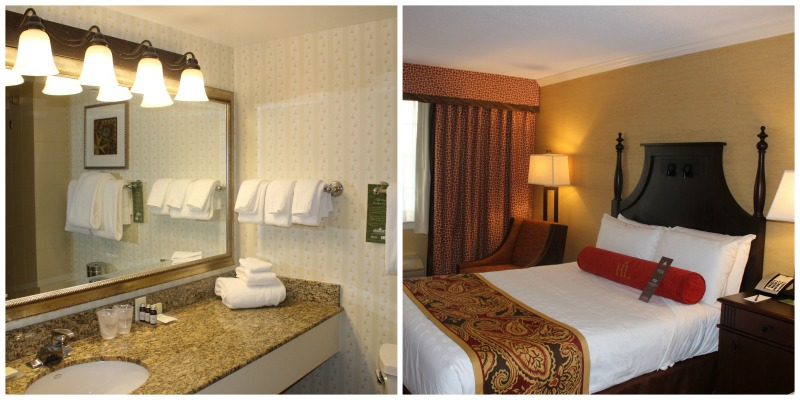 Hershey Lodge Rooms are comfortable and elegant while still being family friendly #SweetestMoms