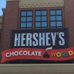 Having Fun at Chocolate World in Hershey PA