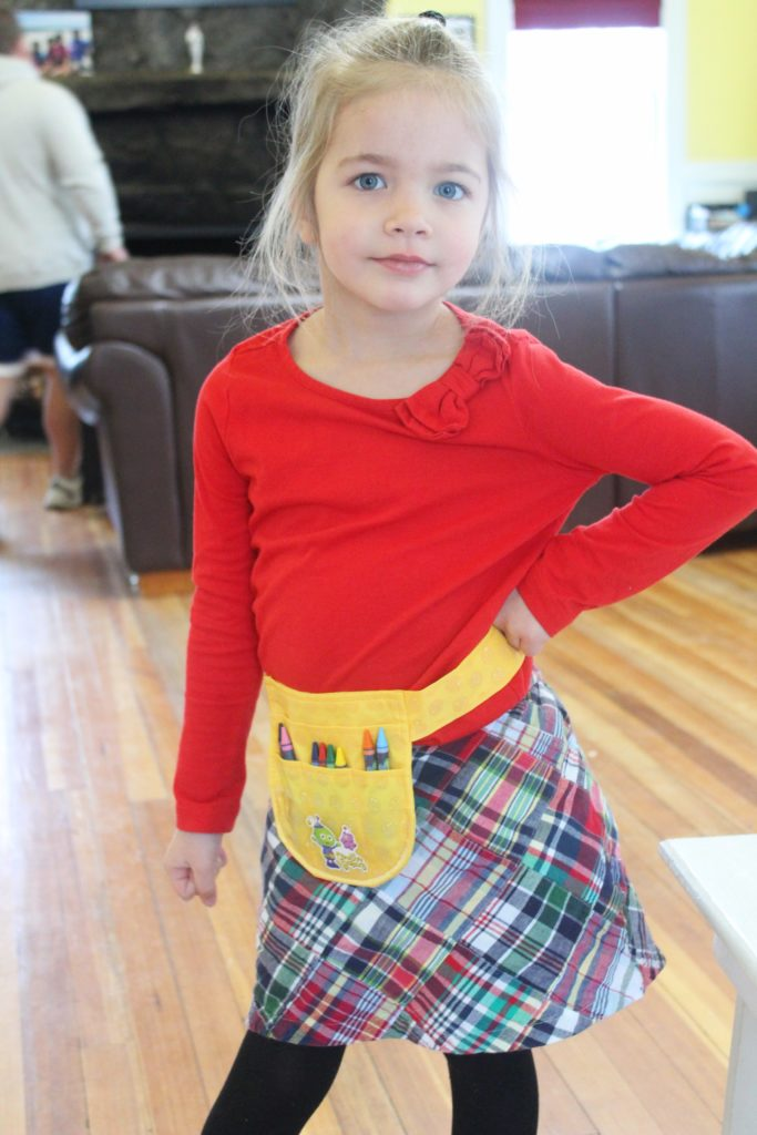 How cute is the Arty's Toolbelt set? Perfect for a day of crafting! #ad