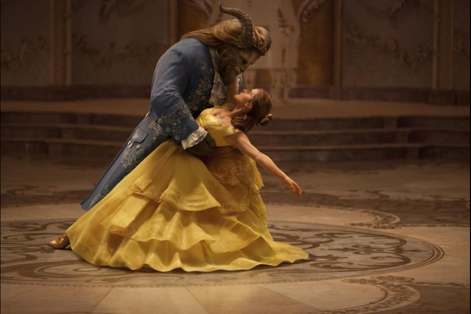 Beauty and the Beast Movie Picture and Coloring Sheets