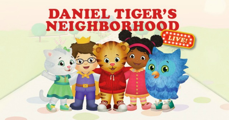 Daniel Tiger's Neighborhood Visits the Scranton Cultural Center and your can win tickets to the show!