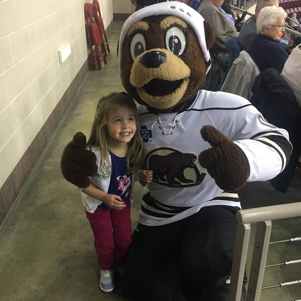 Did you know that there is lots to do in Hershey PA even when Hersheypark is closed for the season? Why not take in a hockey game and meet Cocoa and watch the Hershey Bears defend the den? #ad