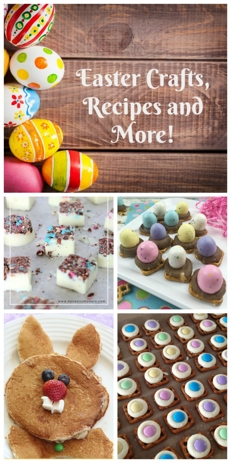 Easter Crafts, Recipes and more! Everything you need to make your Easter easy and memorable!