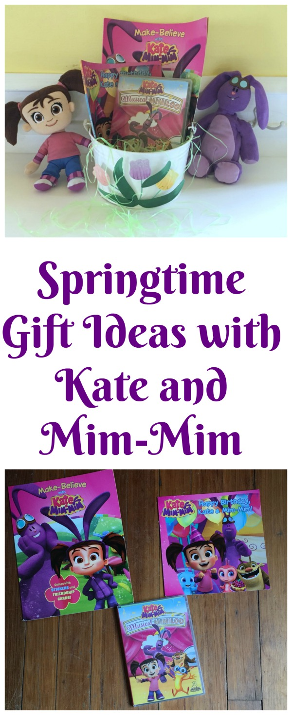 Springtime Gift Ideas with Kate and Mim-Mim #ad #TwirlAway