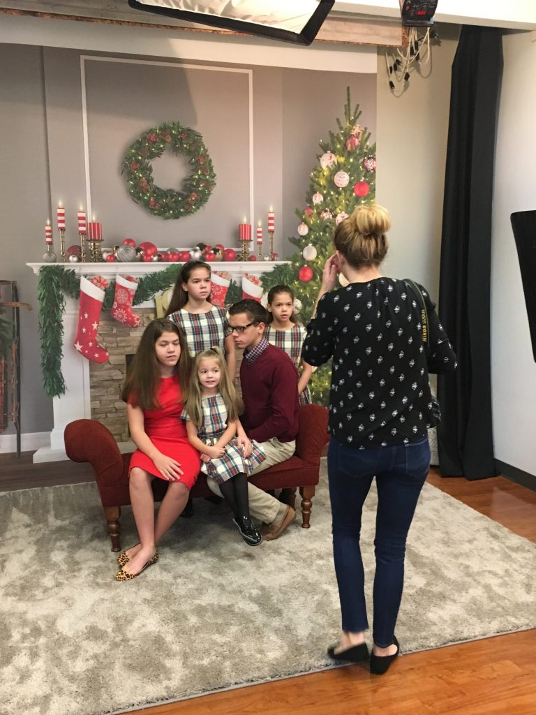Tips for Getting great Holiday Photos--go to Portrait Innovations where they are used to dealing with kids all day, in all types of moods!