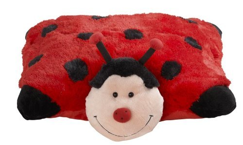 Pillow Pets plush folding stuffed animals add true function to that warm and wonderful feeling by combining the security of a stuffed animal with the functionality of a pillow.