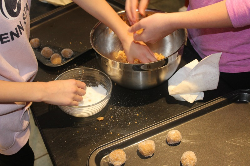 I love spending time with my girls in the kitchen, creating memories and passing down family traditions!